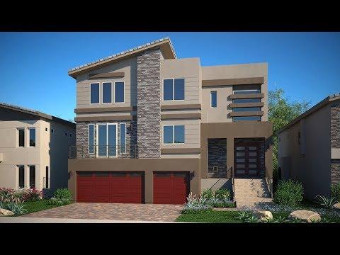 Modern 3 Story Home For Sale Las Vegas   Rooftop   360' City Views   4,910 Sqft   $583K   5 Beds