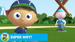 SUPER WHY! | Whyatt Practices Baseball | PBS KIDS