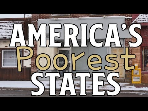 Xxx Mp4 The 10 POOREST STATES In AMERICA 3gp Sex