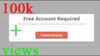 how to download torrent in kickass without creating free account 100% works