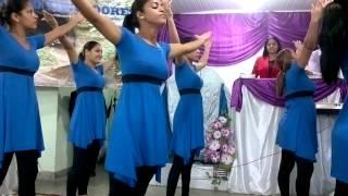 Grupo De Coreografia Unção Divina (Bruna Carla )ACEITO TEU CHAMADO