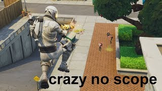 Frotnite Funny Moments JUMPING NO SCOPE