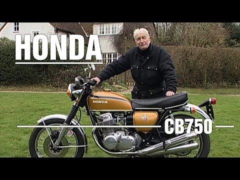 Honda 'CB750 Four' 1975 750cc - Bike Review
