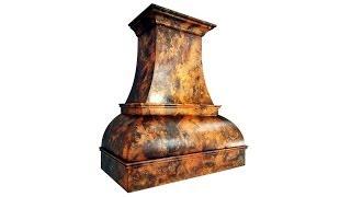 I am an Alchemist (faux copper patina timelapse)