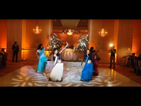 Sri Lankan/Indian Wedding Dance-May 2014 - Nagada Sang Dhol, Dhak Dhak, Choli ke & Marshallah