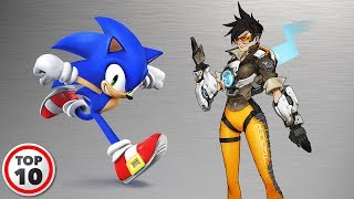 Top 10 Fastest Video Game Characters