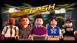 Lego CW Custom Minifigure- Team Flash