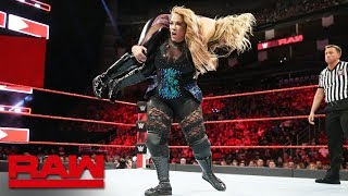 Nia Jax vs. Natalya: Raw, June 4, 2018