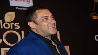 Salman Khan's FUNNY Interview at Colors Golden Petal Awards 2016