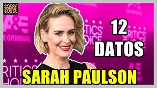"12 Curiosidades sobre ""SARAH PAULSON"" - (American Horror Story) - |Master Movies|"