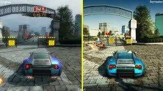 Burnout Paradise Remastered vs Original Early Graphics Comparison