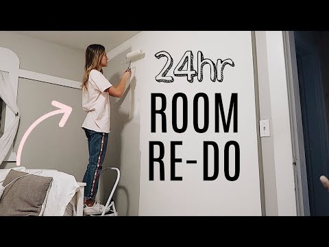Making Over my Room in 24hrs.