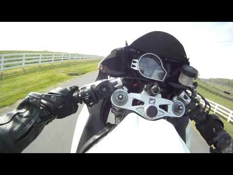 Gopro HD CBR1000rr Wheelie