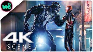 VENOM vs MCU Spider-man   Fight Scene (2019) Marvel Movie HD
