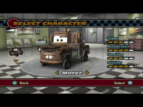 Cars PS2 Gameplay