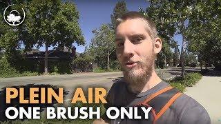One Brush Challenge - Plein Air Adventure 70