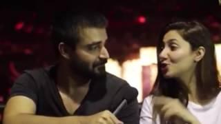 MAHIRA and Hamza Abbasi   Secret affair   Finally caught   2016  