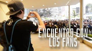 ¡Rubius, Mangel y Fernanfloo se encontraron con sus fans!