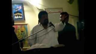 Imam Bargah Ali Raza chungi amar sidhu gondal chowk Lahore.Majlie-e-Aza 18 jeith 31 May 2015