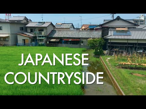 Train Ride through the Japanese Countryside | IYONADA MONOGATARI