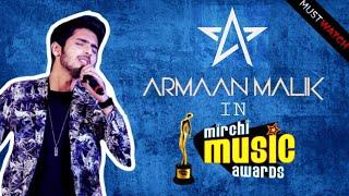 Armaan Malik in Mirchi Music awards | 2018 | Bangla | Exclusive Footage | Bong Stuffs