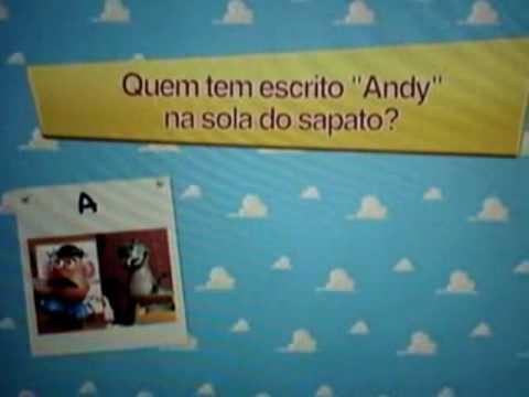 Toy Story Trivia 1 Brasil