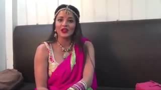 Famous bhojpuri actress , big boss Monalisa Interview