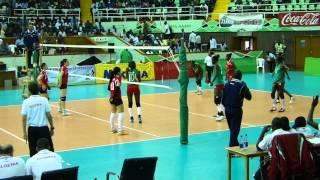 Algeria v Senegal in the semifinal of Women
