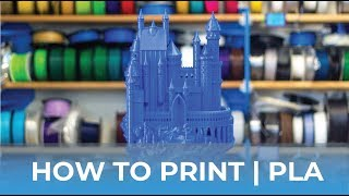 How To Succeed When 3D Printing With PLA Filament // How To 3D Print Tutorial