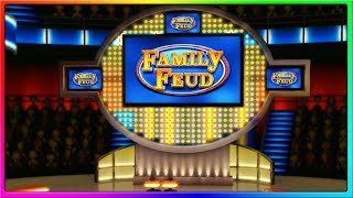 Family Feud Fast Money FAIL!   Family Feud Funny Game