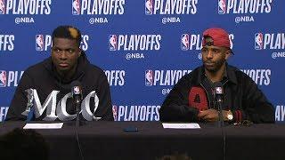 Chris Paul & Clint Capela Postgame Interview - Game 5 | Jazz vs Rockets | 2019 NBA Playoffs