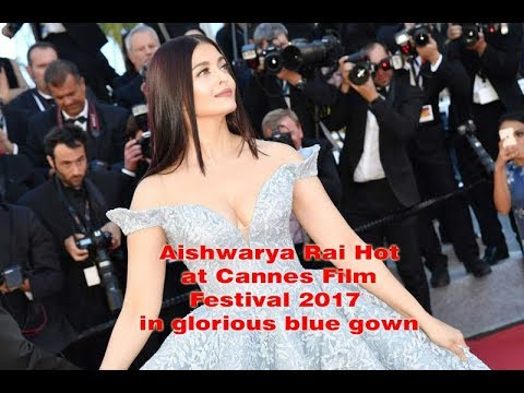 Xxx Mp4 20 Top Most Beautiful Images Of Aishwarya Rai Hot At Cannes Film Festival 2017 In Glorious Blue Gown 3gp Sex