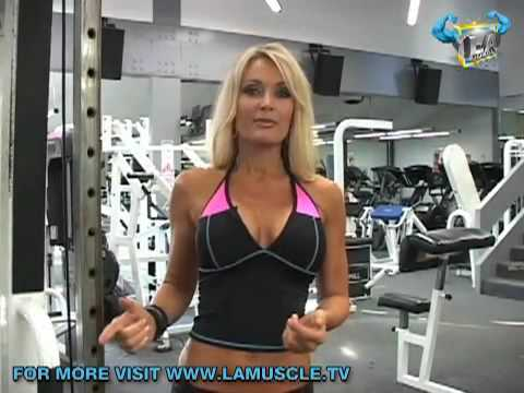 Work Out with Stunning Top Fitness Model Sherry Goggin Part 1