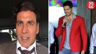 Akshay's Special Video For Hrithik | Sidharth Talks About 'A Gentleman' Kissing Scene