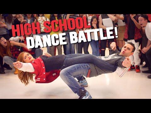 HIGH SCHOOL DANCE BATTLE - GEEKS VS COOL KIDS! // @ScottDW
