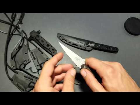 CRKT neck knives/ SPEW V Obake