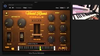StudioLinked - VOCAL RUNS MODULE (VST/AU)