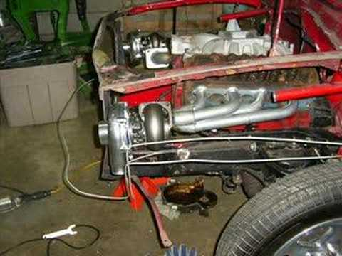 twin turbo 78 pinto build