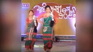 New Santali Dance Performance By KISS Students at Adivasi Mela 2017 on Hola Tikin & Sari Sari Ge