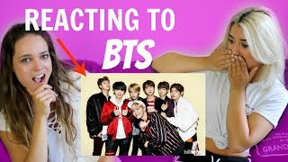 REACTING TO BTS (KPOP)