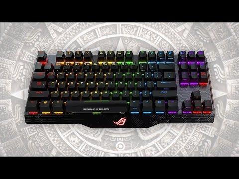 ¿El teclado más caro Asus ROG Claymore Core Mecánico Cherry MX Red