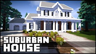 Minecraft - Suburban House