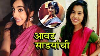 Sakhi Gokhale Loves To Wear Sarees   Watch her Saree Collection   Reshma of Dil Dosti Duniyadari