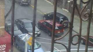 Man steals a car in the Bronx