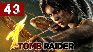 Tomb Raider Gameplay Walkthrough - Part 43 - Dead Bodies The Cage Puzzle - Lets Play Commentary 2013