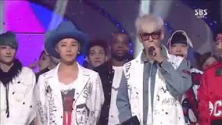 [HD] 150823 BIGBANG (빅벵) - LET'S NOT FALL IN LOVE - No.1 (1위) @ Inkigayo