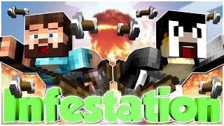 Minecraft Mini-Game   INFESTATION DOMINATION W/ CODY