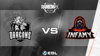 Rainbow Six Pro League 2017 - Season 3 Finals - PC - Black Dragons vs. 1nfamy - day 1