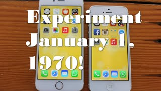 Experiment January 1, 1970! Date With Iphone 5 & 6 Facts