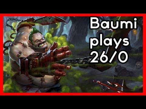 Dota 2 | NEXT LEVEL HOOKS!! | Baumi plays Pudge